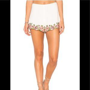Show me your mumu Ashton Rosie posos floral shorts